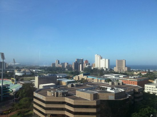 Hilton Durban: view from room