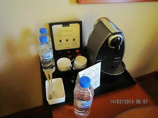 Grand Ambassador Seoul associated with Pullman:                   Coffee maker