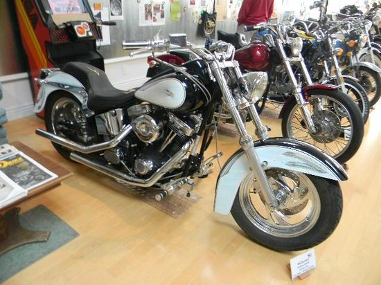 Jameson Classic Motorcycle Museum:                   1991 Indian motorcycle