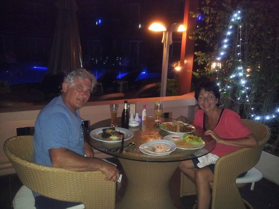 Blue Ocean Resort:                   Night dining. Great food.
