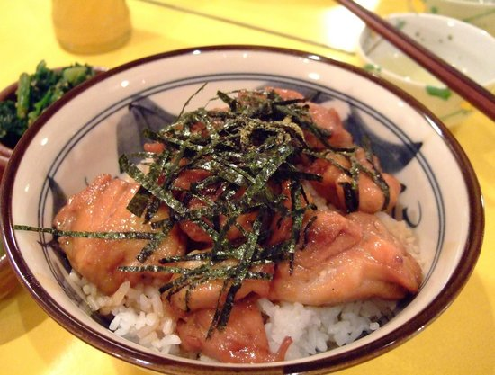 Kuishimbo: Teriyaki Chicken on Rice