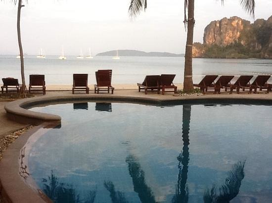 Railay Bay Resort & Spa:                   view from hotel pool