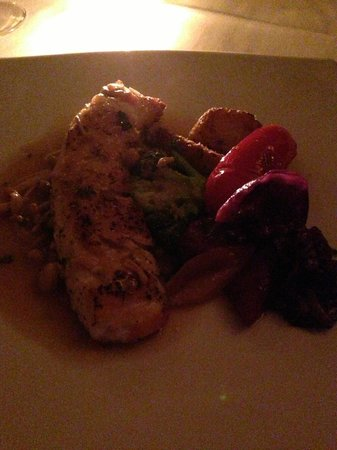 Casa Italia:                   Mmmm.... Lubina fish