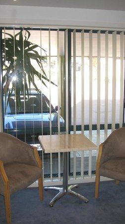 The Anchorage Motel:                   Window