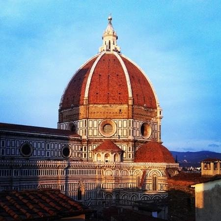 Hotel Brunelleschi:                                     view from room 502