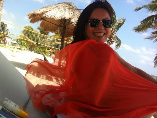 Luna de Plata . Hotel:                   disfrutando la playa de Luna de Plata