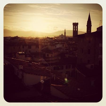 Hotel Brunelleschi:                                     sunrise from room 502
