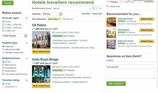 KS Palace: No.1 value for money in New Delhi. we are proud that we value your money.