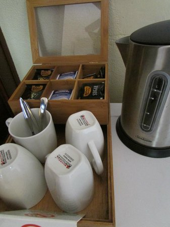 Margaret River Hotel:                                     Complimentary Coffee/tea making facility