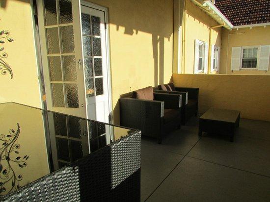 Margaret River Hotel :                                     Cosy corner at the Balcony