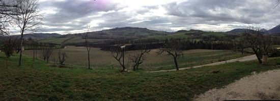 Country House Le Calvie: panorama