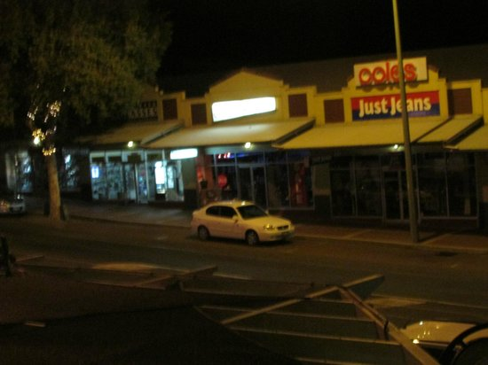 Margaret River Hotel :                                     A night view from the Room Balcony