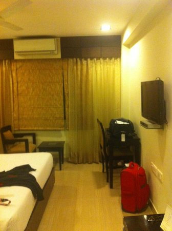 Classic Diplomat - New Delhi:                   Our room