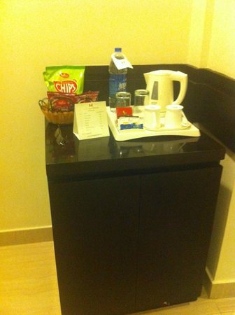 Classic Diplomat - New Delhi:                   Minibar in the room