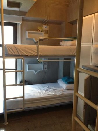 Lub d Bangkok Siam:                   Dorm room.  Bunk beds
