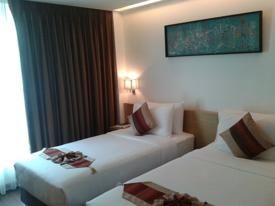 CityPoint Hotel:                   double room (simple and clean)