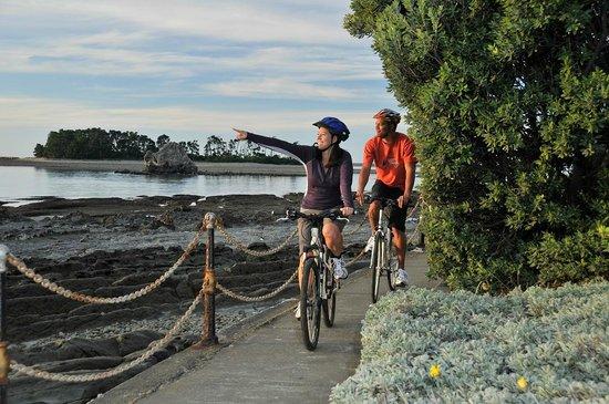 UBike Cycle Hire: crusing the sea