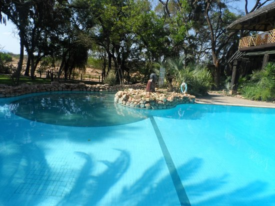 Sarova Shaba Game Lodge:                                     A view of the pool