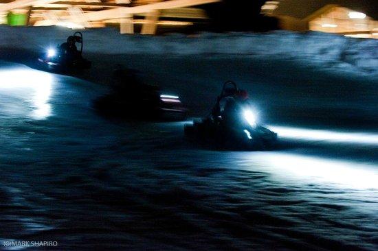 Sébastien Loeb at Karting Extreme Verbier