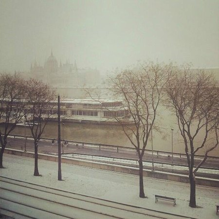 art'otel budapest:                                     ..view from my room...