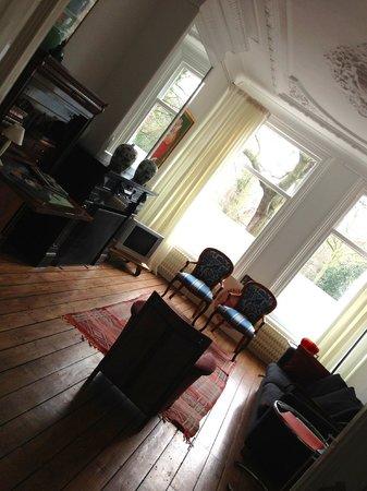 Amsterdam B&B Park9:                   Living room