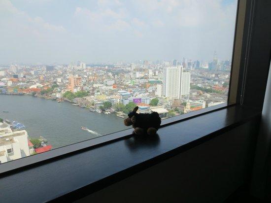 Millennium Hilton Bangkok:                   Paulinche guckt fern