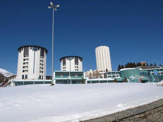 Grand Hotel Duchi d'Aosta :                   Torre Bianca