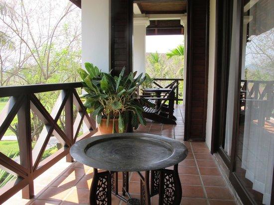 Santi Resort & Spa:                   Balcony in room 407