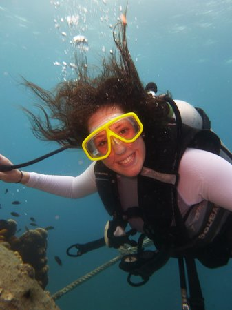Goodtime Adventures, Koh Tao: happy diver!