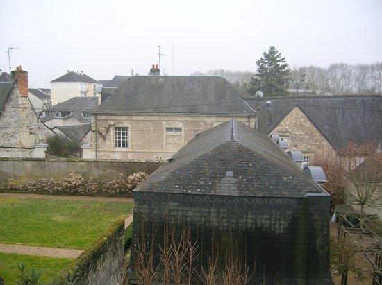 Hotel Diderot: vue sur les toits de Chinon