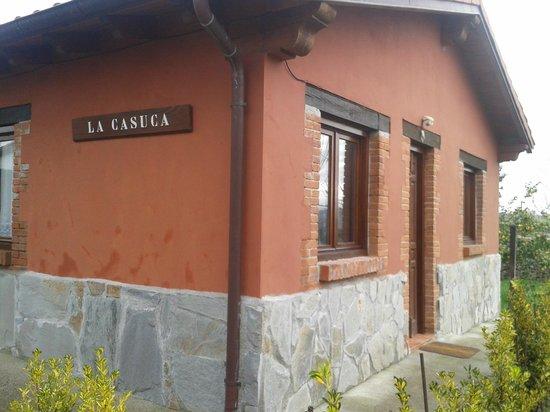 Posada Rural La Cabaña de Salmón: Apartamento:La casuca