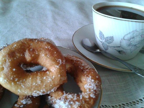 Posada Rural La Cabaña de Salmón: Servicio de desayunos y cenas