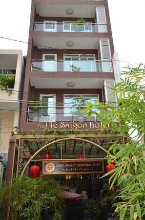 Little Saigon Boutique Hotel: Facade of the Little