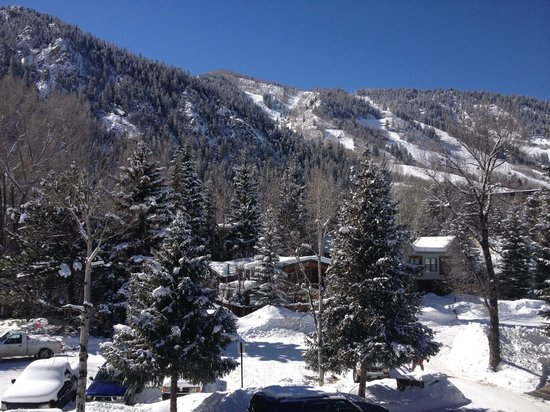 Aspen Silverglo :                   View from balcony of Condo 307