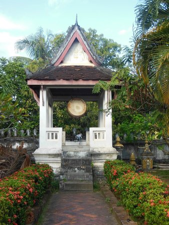 Wat Choumkhong:                   in the garden