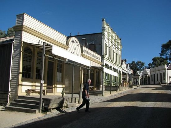 Sovereign Hill Hotel:                                     Sovereign Hill