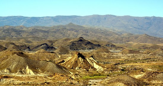 Almeria - Costa De Almeri Spain  city photo : Foto de Provincia de Almería: Panorámica del Desierto de Tabernas ...