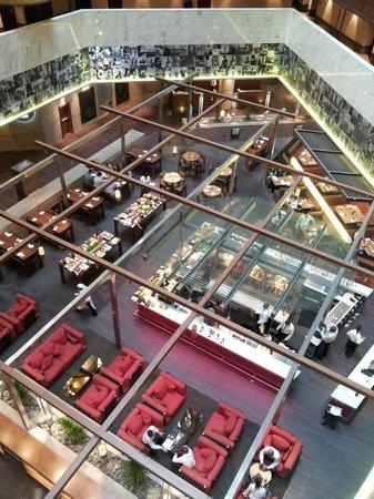 Sandton Sun:                   Dining area