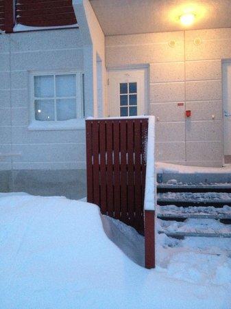 Lapland Hotel Sirkantahti:                   вход в номер