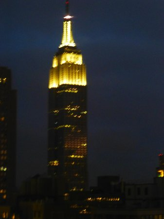 Staybridge Suites Times Square - New York City:                   night view of ESB from our room                 