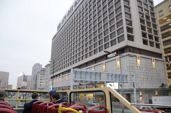 Sheraton Hong Kong Hotel & Towers:                   hotel exterior