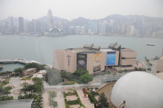 Sheraton Hong Kong Hotel & Towers:                   view from room
