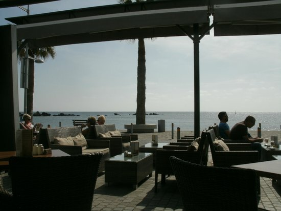 The Moorings :                                     The view