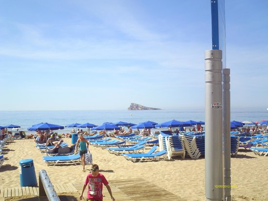 Hotel Levante Club & Spa:                   taken from the beech