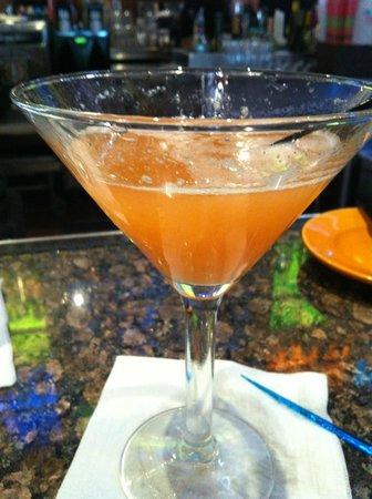 Bahama Breeze:                   pinapple coconut martini