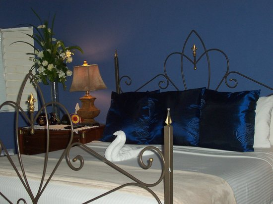 The Blue House Boutique Bed & Breakfast:                                     The Upper Room