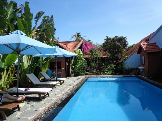 Betel Garden Villas:                                     pool at betel garden homestay