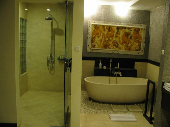 Bali Rich Luxury Villa:                   Shower