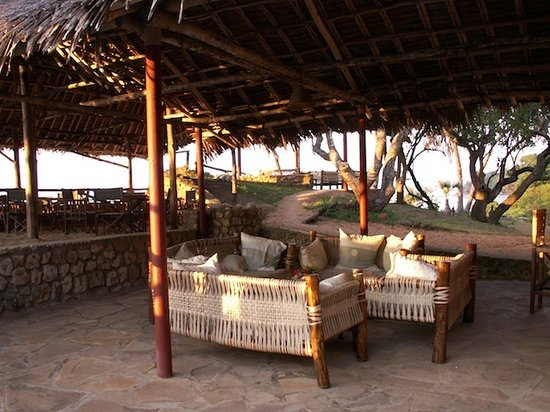 Mkoma Bay Tented Lodge:                   Pleanty of places to relax