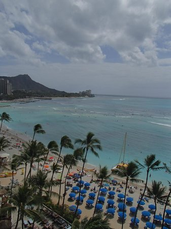 The Royal Hawaiian, a Luxury Collection Resort:                   View from 10th floor